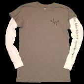 The Blackbird Academy Grey and White Shirt in Shirt