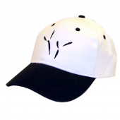 The Blackbird Academy White and Black Ballcap