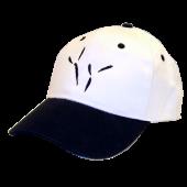 The Blackbird Academy White and Black Ballcap