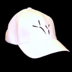 The Blackbird Academy White Ballcap