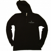 Blackbird Academy Black Thermal Hoodie