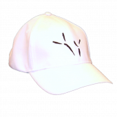 The Blackbird Academy White Ballcap