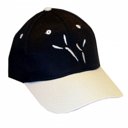 The Blackbird Academy Black and Grey Ballcap
